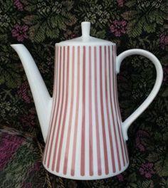 Melitta-Zuerich-Design-Kaffeekanne-Kanne-5-100-rosa-Streifen