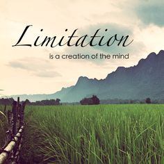 Limitation is a creation of the mind, Konglor Village, Laos