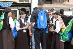Papa Francisco pelas ruas do Rio de Janeiro