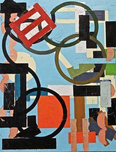 "Saatchi Art Artist Julien Porisse; Painting, ""Structure in Blue Space"" #art"