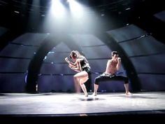 'In for the kill,' performed by Robert and Caitlynn, choreographed by Sonya
