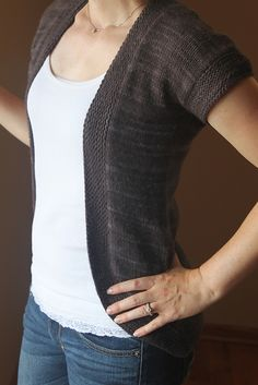 free seemless knit cardigan Ravelry pattern - I shall try and shorten it to make a cropped shrug
