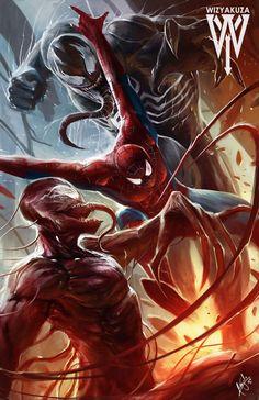 Spider-Man vs Venom & Carnage