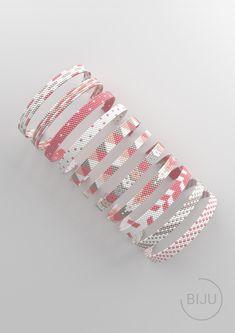 Loom Bracelet Patterns, Bead Loom Bracelets, Beaded Jewelry Patterns, Jewelry Bracelets, Bead Crochet Patterns, Peyote Patterns, Beading Patterns, Beading Tutorials, Embroidery Patterns