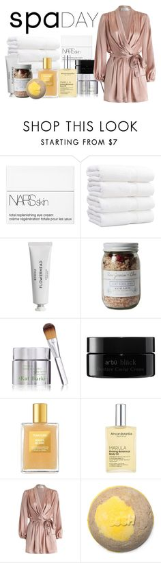 """""""it's time to pamper yourself"""" by lissete93 ❤ liked on Polyvore featuring beauty, NARS Cosmetics, Byredo, Zoet Bathlatier, Kat Burki, arbÅ«, Tom Ford, African Botanics, Zimmermann and spaday"""