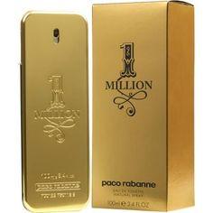 Paco Rabanne 1 Million Oz / Oz Edt Cologne Spray For Men Brand New - Men's Fragrances - Ideas of Men's Fragrances 212 Vip, One Million Paco, Best Fragrance For Men, Best Fragrances, Tolu, One Million Perfume, Ecg, Grapefruit, Lily Of The Valley