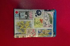 Decoupage Can Be Done With Any Paper Material, Like Stamps!