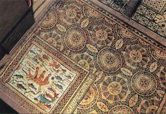Patio central de la Casa de Hippolytus Siglo IV d.C. Reconstrucción infográfica