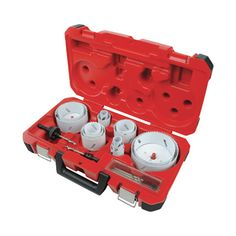 FREE SHIPPING — Milwaukee Master Electrician's Hole Saw Kit — 19-Pc., Model# 49-22-4105