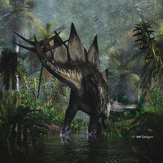 #Stegosaurus - TIME WARS by ~Nytcrawler