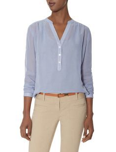 Textured Layering Blouse from THELIMITED.com #TheLimited