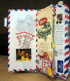 Blog Scrapbook Laurentides: Inspiration... journal de voyage!