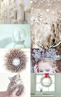 let it snow :) | Christmas decorating ideas | silver and gold glitter Christmas decor | Holiday decorations