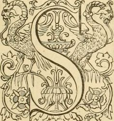 """Image from page 802 of """"The New Testament of our Lord and Saviour Jesus Christ : a fac-simile reprint of the celebrated Genevan Testament, M.D. LVII.."""" (1842) #initial_S #initial #S"""