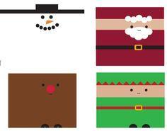 envolturas navideñas para chocolates - Buscar con Google