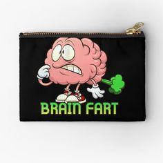 """Brain Fart"" Tote Bag by arendbotha | Redbubble Poplin Fabric, Cotton Tote Bags, Shopping Bag, Chiffon Tops, Brain, Studios, Classic T Shirts, Coin Purse, Canvas Prints"