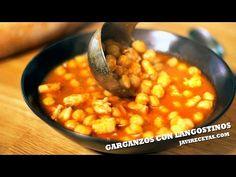 Spanish Kitchen, Spanish Food, Gourmet Recipes, Soup Recipes, Healthy Recipes, Vegetable Prep, Chana Masala, Tapas, Food Print