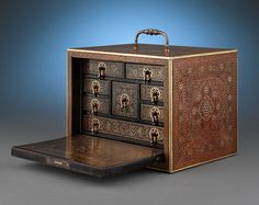 Persian Spice Box, circa 1850. This image is no longer on the site because the item was sold.