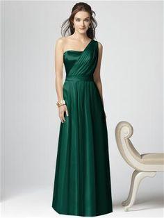 Dessy Collection Emerald Green Bridesmaid Dresses