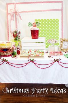 Christmas Party Ideas - Capturing Joy with Kristen Duke