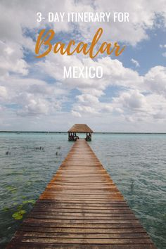 As one of the most beautiful freshwater lakes in the world, the seven-color lagoon in Bacalar, Mexico is a must visit! Read this post to find out how to get there, where to eat and stay, and what to do while you're in Bacalar! Mexico Vacation, Mexico Travel, Central America, South America, Sailing Trips, Worldwide Travel, Weekend Trips, Mexico City, Travel Pictures