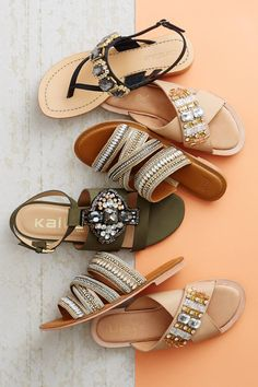 Sandals, sandals, sandals! Collection from Anthropologie