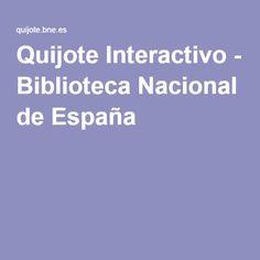 Quijote Interactivo - Biblioteca Nacional de España Boarding Pass