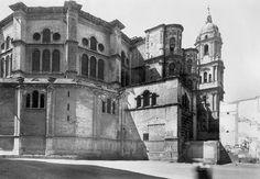 Catedral de Málaga. Andalucía, Spain.1950.