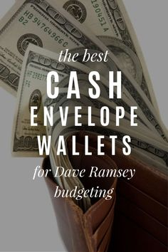 The best cash system envelope wallets for Dave Ramsey budgeting Living On A Budget, Frugal Living Tips, Cash Wallet, Cash Envelope System, Money Saving Meals, Cash Envelopes, Dave Ramsey, Ways To Save Money, Money Management