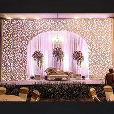 New Garden Wedding Backdrop Receptions Ideas - Wedding Garden Wedding Hall Decorations, Wedding Stage Design, Wedding Reception Backdrop, Marriage Decoration, Wedding Mandap, Ceremony Backdrop, Backdrop Decor, Wedding Receptions, Reception Ideas