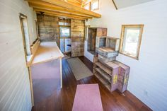 Sneak Peek Inside Our Home! | TINY HOUSE giant journey