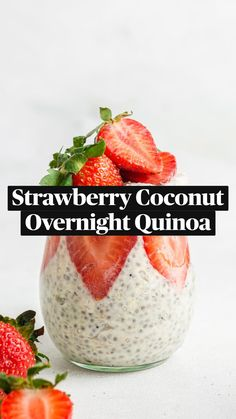 Superfood Recipes, Raw Food Recipes, Snack Recipes, Healthy Vegan Breakfast, Healthy Snacks, Overnight Quinoa, Best Meal Prep, Oatmeal Recipes, Breakfast Smoothies