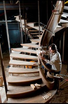 Trapart - The stairs artist – staircase builder of elegant wooden staircases