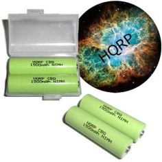 NEW! HQRP 4 Pack AA NiMH Pre-Charged Rechargeable Batteries plus Coaster by HQRP. $10.91. Compatible Models: AA
