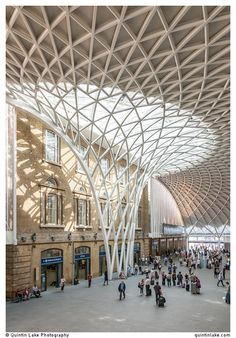 King's Cross Station Western Concourse.  Architect: John McAsl