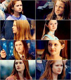 Ginny Weasley Evolution