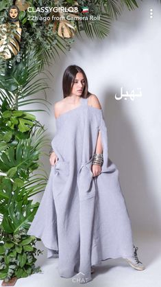 Abaya Fashion, Kimono Fashion, Fashion Outfits, Womens Fashion, Iranian Women Fashion, African Fashion, Linen Dresses, Casual Dresses, African Dashiki Dress