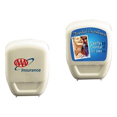 Help your customers maintain dazzling white teeth and promote your brand with a smile by using the compact and powerful Dental Floss. It features superior waxed dental floss of 18 yards that provides long-lasting brand value among the clients. Emblazon your company's logo using direct imprint or laminated decal and inspire your clients to floss twice a day.