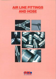 PCL - Air line fittings and hose mini catalogue from 1993.