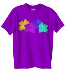 Pretty flowers tshirt for girls
