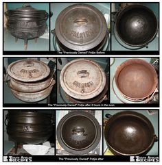South African Recipes POTJIE CARE: The main care for your potjie is discussed on… Dutch Oven Cooking, Cast Iron Cooking, Cooking Tips, South African Dishes, South African Recipes, Braai Recipes, Fire Food, Biltong, Cooking Equipment