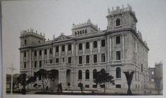 Alicante antiguo. España. Palacio de la diputación ,del arquitecto Vidal