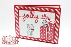 Christmas in July- Stampin' Up!  Bella and Friends and Pretty Kitty