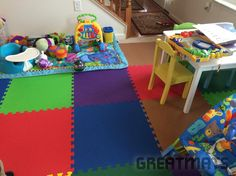 I love these mats. They are easy to clean and for kids it's perfect running & playing. It's a awesome product. - Zari's Day Care LLC, Stephenson, VA