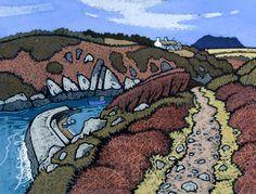 Chris Neale,a landscape artist working in Pembrokeshire, Wales.