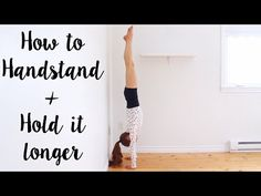 How to do a Handstand - YouTube