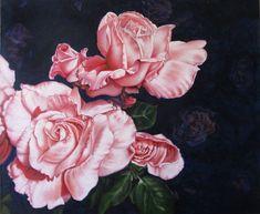"""""""Blushing - Roses"""" b"""