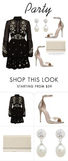"""""""492"""" by meldiana ❤ liked on Polyvore featuring River Island, Carvela, Glint, Lido Pearls and H&M"""
