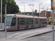 LUAS Dublin City, Buses, Trains, Transportation, Ireland, Irish, Country, Street, Pictures