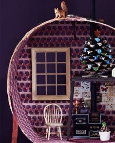 How to make a Hat Box Doll House